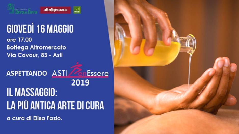 Il massaggio olistico: introduzione gratuita Asti