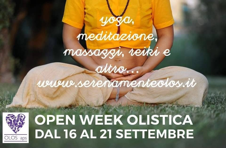 💫Open Week Olistica Reiki 💫