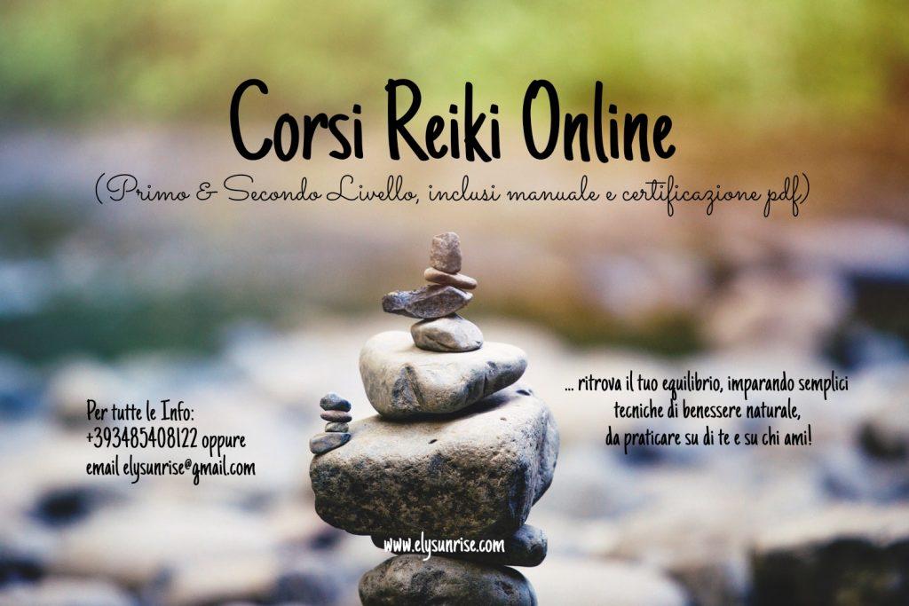 Corsi Reiki Primo & Secondo Livello