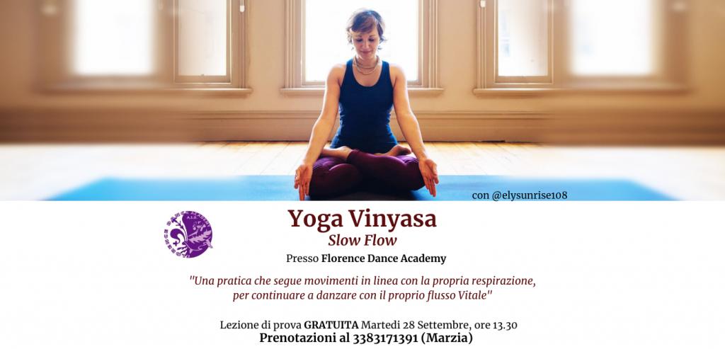 Yoga Slow Flow @ Florence Dance Academy